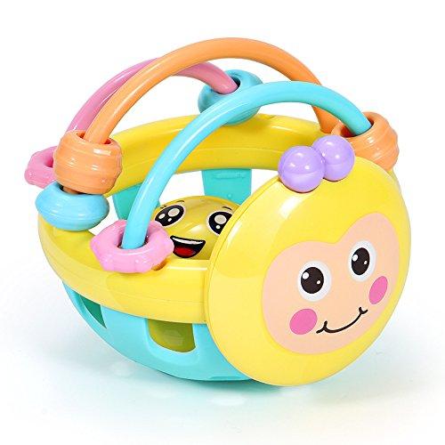 Weekendy Jouet drôle de bébé Enfants Éducatifs Abeille Main Colorée Boule Sensorielle Enfants Funnny Main Catch Ball Jouets Cadeau