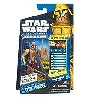 Hasbro スター・ウォーズ クローン・ウォーズ ベーシックフィギュア フレームスロワー クローン・トルーパー/Star Wars 2010 The Clone Wars Action Figure CW26 Flamethrower Clone Trooper【並行輸入】