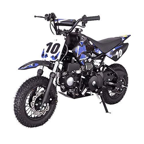 110cc Dirt Bike Pit Bike Youth Dirt Pit Bike 110 Dirt Pitbike,Blue