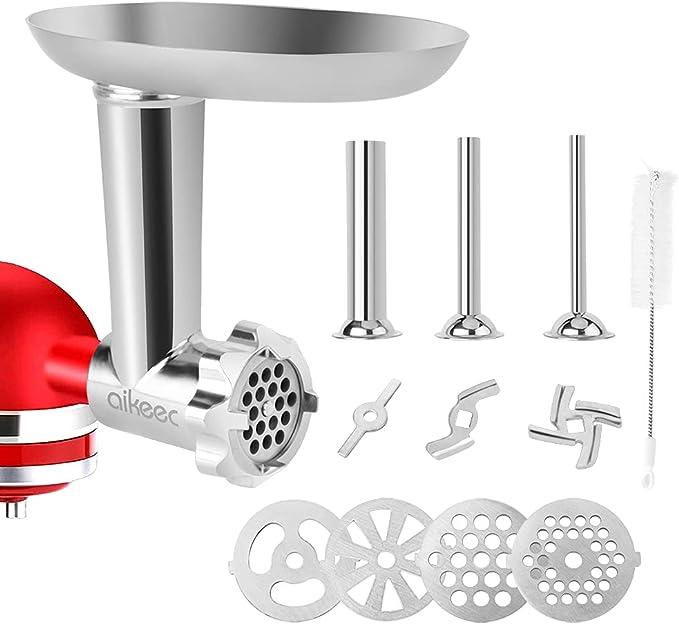 52 opinioni per aikeec Accessori per tritacarne per Kitchen-Aid robot da cucina (ricambio),
