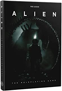 Free League Publishing Alien RPG for Adults, Family and Kids 13 Years Old and Up (Licensed SciFi RPG, Hardback)
