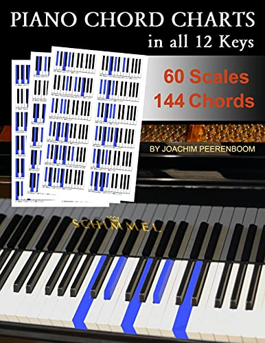 Piano Chord Charts: in all 12 Keys