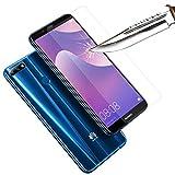 COPHONE® Verre trempé Compatible avec Huawei Y7 2018, Film de Protection écran Premium Anti Chocs...