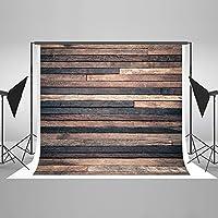 ダークウッド写真バックドロップレトロブラウン木製写真背景Potraitフォトスタジオ小道具写真家とアップグレードの