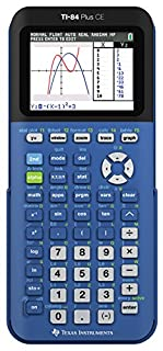 Texas Instruments TI-84 Plus CE Blueberry Graphing Calculator (B00UG8TN2M) | Amazon price tracker / tracking, Amazon price history charts, Amazon price watches, Amazon price drop alerts