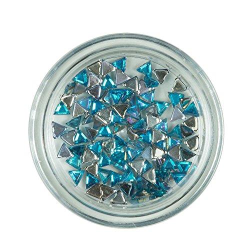 Strass triangle Tour quise de pierres de strass avec décoration en cristal Rhinestones Nail Art