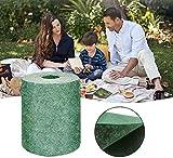 Stuoia per erba in rotolo biodegradabile Stuoia per erba, Soluzione per coltivazione di piante da giardino per prati, toppe per cani e ombrellone, erba non finta o artificiale