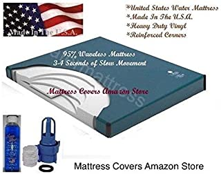 California King 95% waveless waterbed mattress
