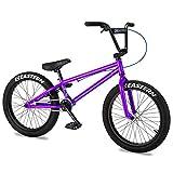 Eastern Bikes Cobra Bicicleta BMX de 20 pulgadas, morado, marco de acero de alta resistencia