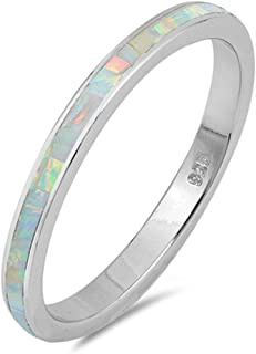 Best opal eternity band Reviews