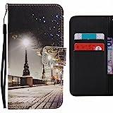 LEMORRY pour LG Nexus 5X Etui Cuir Portefeuille Pochette Protecteur Magnétique Fermeture Fente...