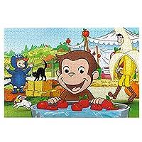 木製パズル おさるのジョージ 4 おしゃれ 1000ピース 少年少女 木質 パズル ゲーム 手作り玩具 大人の益智 ストレスを軽減する 興味 パズル キッズ 学習 認知 教育 玩具 アイデア パズルのおもちゃギフトのため