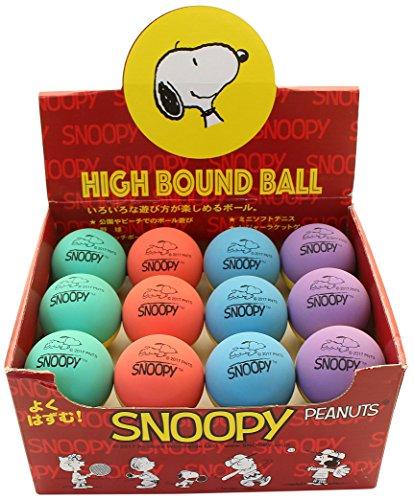 SNOOPY(スヌーピー) ハイバウンドボール 24個入り SN-501