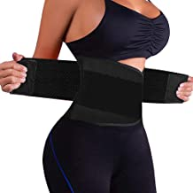ZOUYUE Women's Waist Trainer Belt, Back Brace for Lower Back Pain, Waist Trimmer for Weight Loss, Slimming Body Shaper Belt