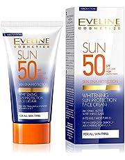 Eveline Whitening Sun Protection Face Cream - 50 Ml