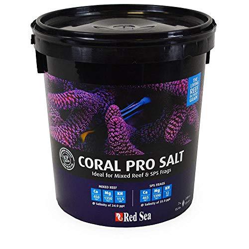 Visit the Red Sea Fish Pharm ARE11220 Coral Pro Marine Salt for Aquarium, 55-Gallon on Amazon.