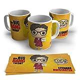 TAZA The Big Bang Theory Personaje, Regalo Amigo Invisible,cumpleaños,Navidad