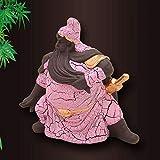 FENG Autoinnendekoration, Dekoration Guan Yu Dekoration verwendbar für Auto/Büro/Familie Mehrzweck,Pink