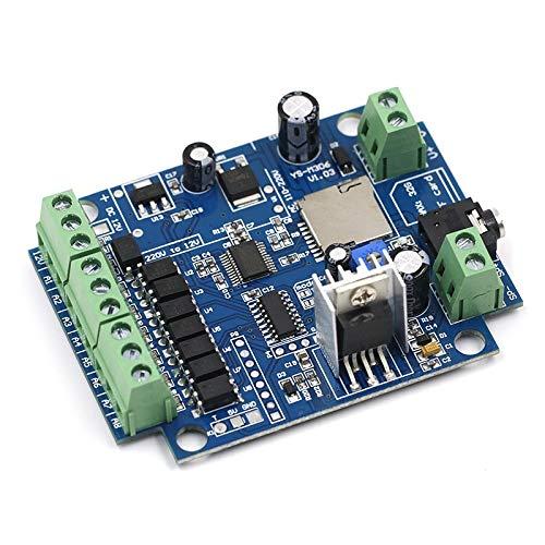 WULE-RYP Alarma DC 12V MP3 Reproducción de Voz Módulo de Voz de difusión apuntador Modo Multi gatillo