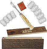 Brotbacker Lame Slashing Tool – Teig-Werkzeuge zum Backen von Sauerteig Brot Starter Jar Scoring...
