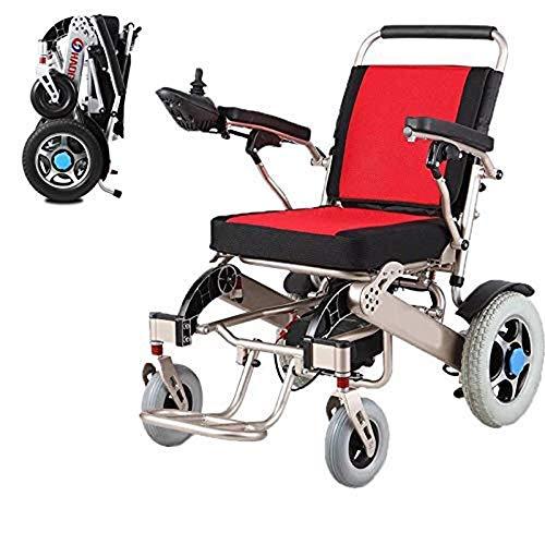 Wheelchair Rollstuhl, medizinischer Reha-Stuhl für Senioren, alte Menschen, zusammenklappbarer tragbarer Elektrorollstuhl, leichter elektrischer Rollstuhlroller, Flugsicherer, von der FDA zugelassene