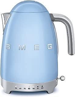 Smeg KLF04PBUS Electric Kettle, 11.7 x 10.4 x 9.1 inches, Pastel Blue