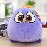 DONGER Angry Birds 2 Dolls Birthday Gift Little Bird Baby Doll Peluches-Purple-Little Bird_18cm muñeca