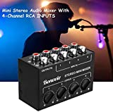 Immagine 2 mini stereo mixer bonvvie passivo