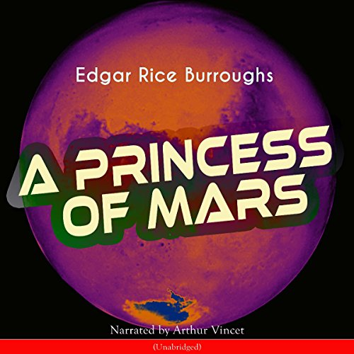 A Princess of Mars (Barsoom 1) audiobook cover art