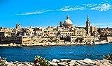 Valletta Skyline Malta Europe Home Decor Art Wall Poster 45