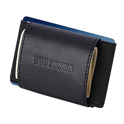 Carteras de Bloqueo RFID para Hombres Monedero de Cuero Genuino Cartera de Tarjeta de crédito Monedero Slim Coin Pocket para Hombres con Caja de Regalo