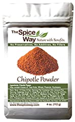 CHIPOTLE POWDER - a large smoked Jalapinio with a sweet hot flavor that will enhance all of your dishes. HOW TO USE - great for a deep, hot, fruit-like flavor. Great on rubs, salsa, shakshuka, meat, and every dish you feel needs a kick! GROWING AND P...