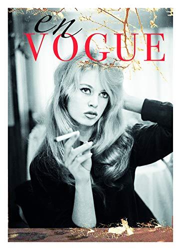 Generisch • Thomas Solveig • Brigitte Bardot En Vogue Wandkunst Bild Drucke Wohnzimmer Pop Art Malerei Poster DIN A3 Ungerahmt Dekoration