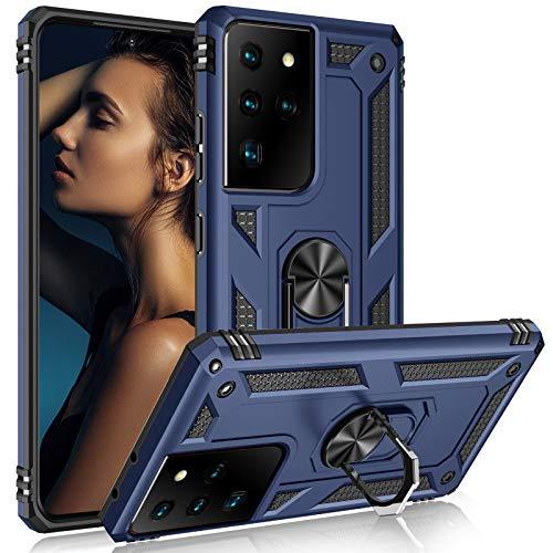 Funda para Samsung Galaxy S30 / S21 Ultra a prueba de golpes, cuerpo completo, resistente con imán y soporte, compatible con Samsung S21 Ultra 5G