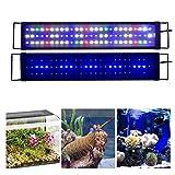 KZKR Aquarium Light Full Spectrum Fish Tank Light...