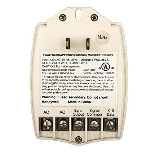 Honeywell Ademco K10145X10 9 Volt 25 VA Transformer