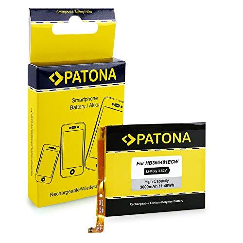 PATONA™ Batteria HB366481ECW Compatibile con Huawei Honor 8, P9, Venus