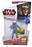 Hasbro Star Wars 2009 Clone Wars Animated Action Figure CW No. 42 Anakin Skywalker Cold Weather Gear