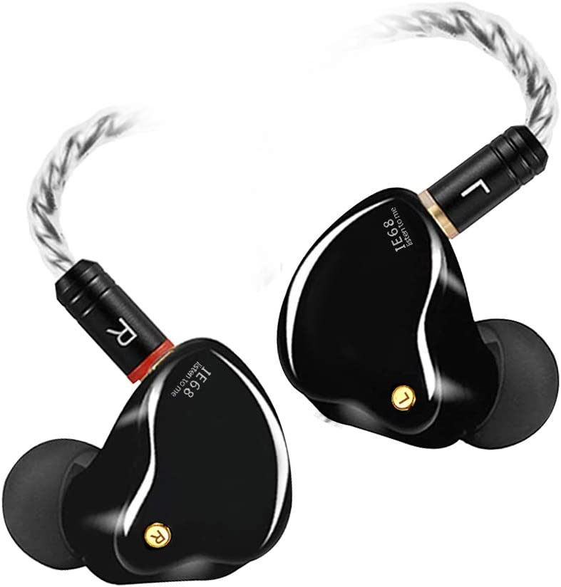 DCMEKA in-Ear Monitor Headphones, Superior Sound Wired Earbuds w