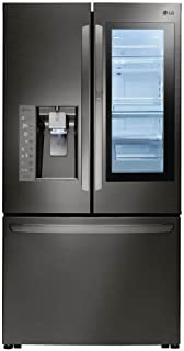 LG LFXS30796D French Door Refrigerator with 30 cu. ft. Total Capacity, in Black Stainless Steel