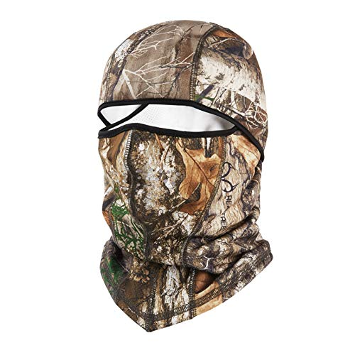 Balaclava Ski Mask Winter Hunting Camo Face Masks Real Tree Edge Camo for Men & Women Hunting Gear Accessories, Breathable Windproof Thermal Material for Skiing, Snowboarding & Motorcycle Riding