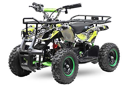 """Elektro Kinderquad Torino Basic 1000W 48V 6\"""" Miniquad Quad ATV Bike 1161013 (Gelb)"""