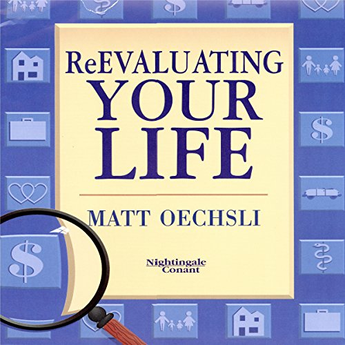 Re-Evaluating Your Life audiobook cover art