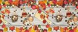 HomeLife Tappeto Cucina Antiscivolo Lavabile Made in Italy [Cm 58X115]   Passatoia Moderna in Ciniglia   Tappeto Runner Lungo Colorato con Stampa Digitale con Cannella e Colori d'Autunno [Cm 58X115]