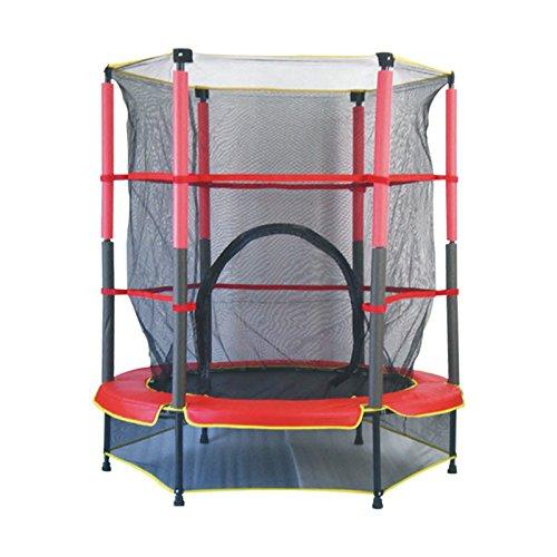 HONEI トランポリン(1.4m)セーフティーネット付きで安心安全 飛んで遊んでバランス育成 室内・屋外遊具