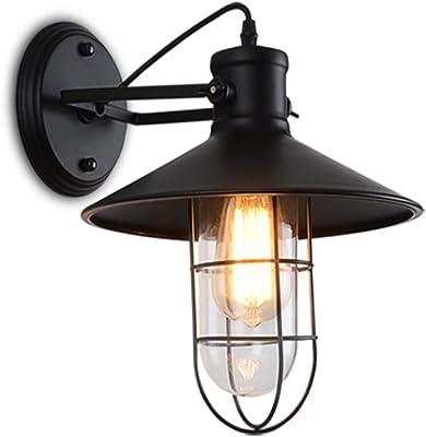 Wandlampe Beleuchtung Led Lagerhaus Vogelkäfig Wand Lampe Im