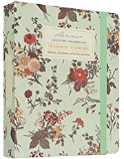 Kokonote® Premium Agenda 2021 2022 Seasonal Flowers - Weekagenda 17 Maanden 2021 2022