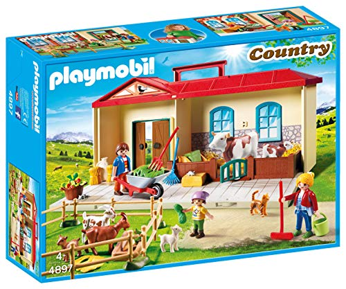 Playmobil- Autre Ferme transportable, 4897, Norme