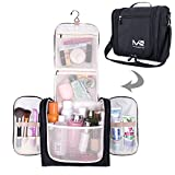 MelodySusie Premium Hanging toiletry bag, Large Travel Cosmetic,...