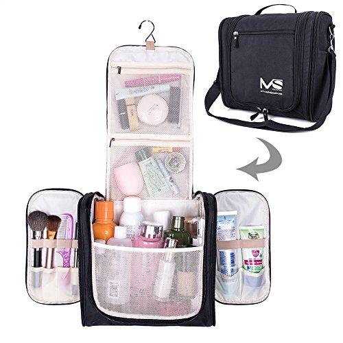 MelodySusie Premium Hanging toiletry bag, Large Travel Cosmetic, Toiletries,...